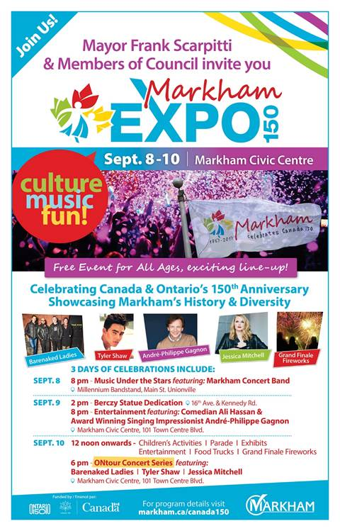 You're Invited Markham Expo 150