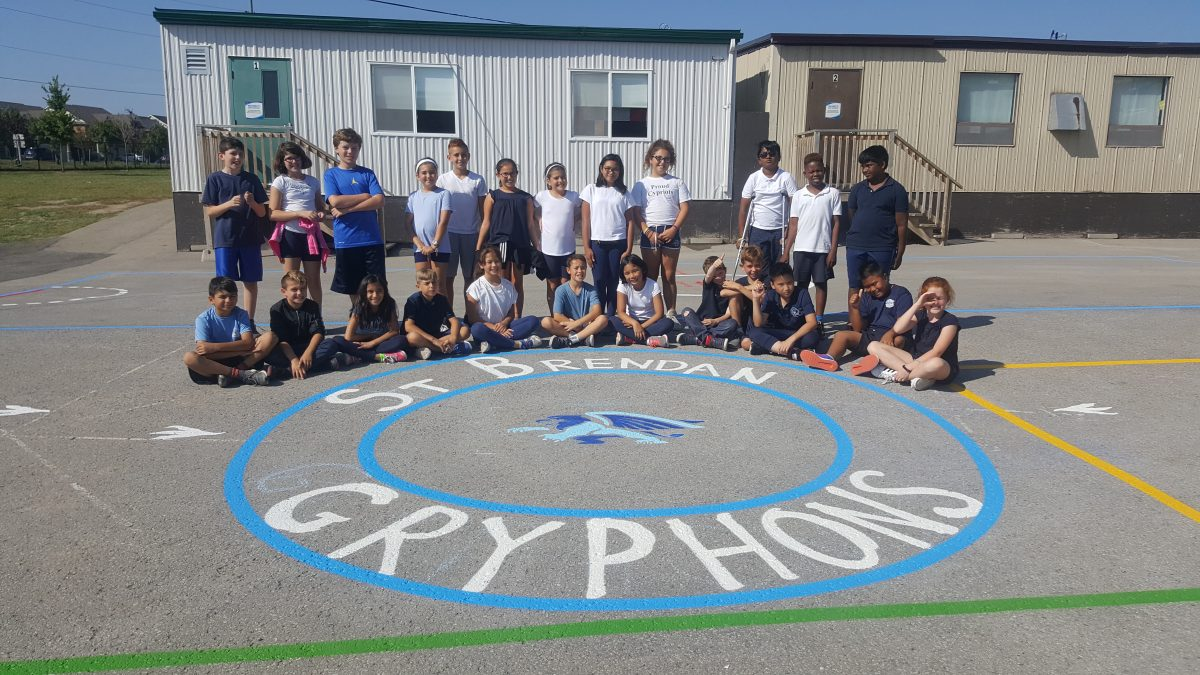New Blacktop Playground