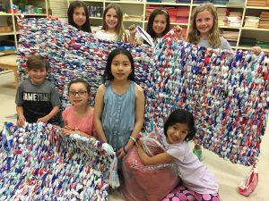 Luke 4:18 Students Build Milk Mats